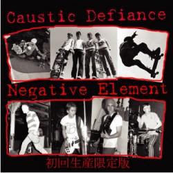 Various Artists – Caustic Defiance/Negative Element-Split CD