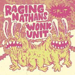 Various Artists – Wonk Unit/Raging Nathans - split