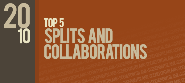 Top 5 splits and collaborations