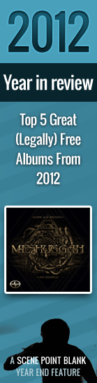 Top 5 Great (Legally) Free Albums From 2012