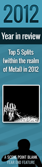 Top 5 Splits (within the realm of Metal) in 2012