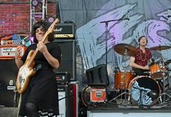 Screaming Females @ Bo Diddley Plaza
