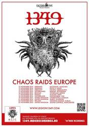 Tours: 1349 Announce European Tour and Stream Songs from Upcoming Album