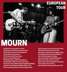 Tours: MOURN To Tour Europe