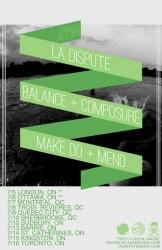 Tours: La Dispute, Balance & Composure, and Make Do & Mend Head To Canada