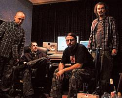 Bands: Antigama in studio