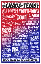 Shows: Chaos In Tejas 2011 Announced