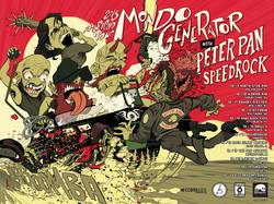 Tours: Mondo Generator to hit the road with Peter Pan Speedrock