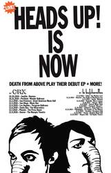Tours: Death From Above Announce Heads Up Anniversary Tour