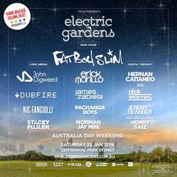 Shows: Electric Garden festival in Sydney