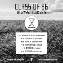 Tours: Class of 86 Midwest tour
