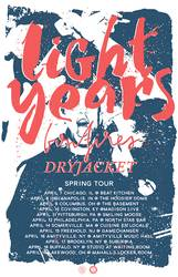 Tours: April tour for Light Years