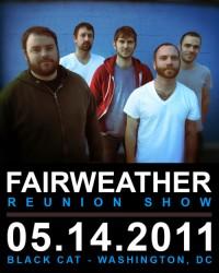 Shows: Fairweather Announce Reunion Show