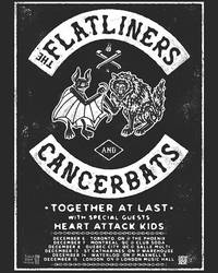 Tours: Cancer Bats and Flatliners Announce Canadian Tour