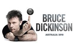 Tours: Bruce Dickinson Australian Tour 2018