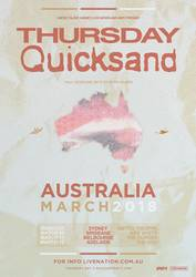 Quicksand released Interiors and announces Australian dates for 2018