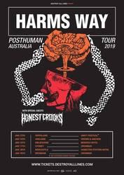 Tours: Harms Way Australian tour