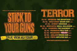 Tours: Stick To Your Guns and Terror coming to town (Australia)