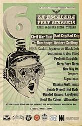 Shows: La Escalera Fest 6 tickets available