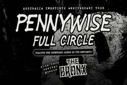 Tours: Pennywise Full Circle Twentieth Anniversary Australian Tour