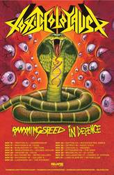 Tours: Toxic Holocaust, Ramming Speed, In Defence on tour