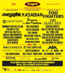 Shows: Reading / Leeds (UK) Festival Lineup Announced