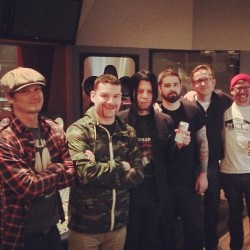 Bands: Senses Fail enter studio