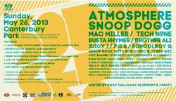 Shows: Line-up announced for Soundset 2013 festival