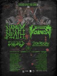 Tours: Napalm Death tour