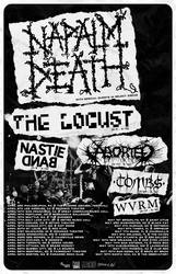 Tours: Napalm Death, Tombs, and more on the road together