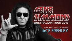 Tours: Gene Simmons and Ace Frehley in Australia