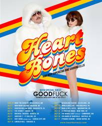 Tours: Heart Bones announce tour, album plans
