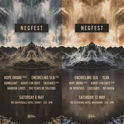 Shows: Negfest 2017 in Sydney and Melbourne