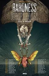 Tours: Baroness + Deafheaven co-headlining across North America