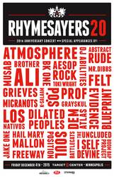 Shows: Rhymesayers 20