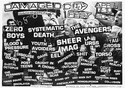 Shows: Damaged City Fest 2016