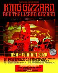 Tours: King Gizzard & The Lizard Wizard 2020
