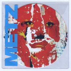 Records: One-sided Metz 7-inch single