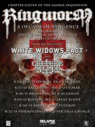 Bands: Ringworm to tour on Justice Replaced by Revenge