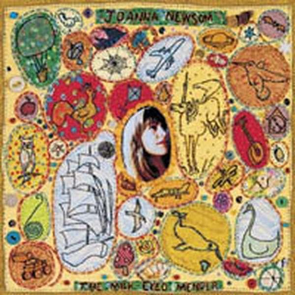 Joanna Newsom – The Milk-Eyed Mender cover artwork