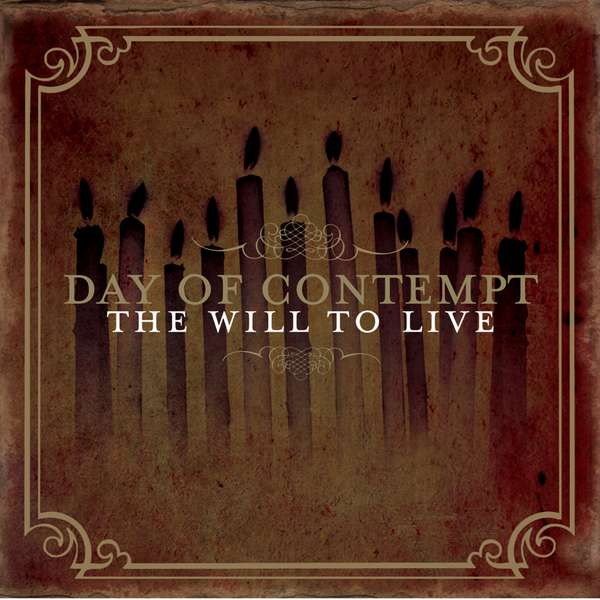 Day of Contempt – The Will to Live cover artwork