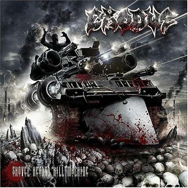 Exodus – Shovel Headed Kill Machine cover artwork
