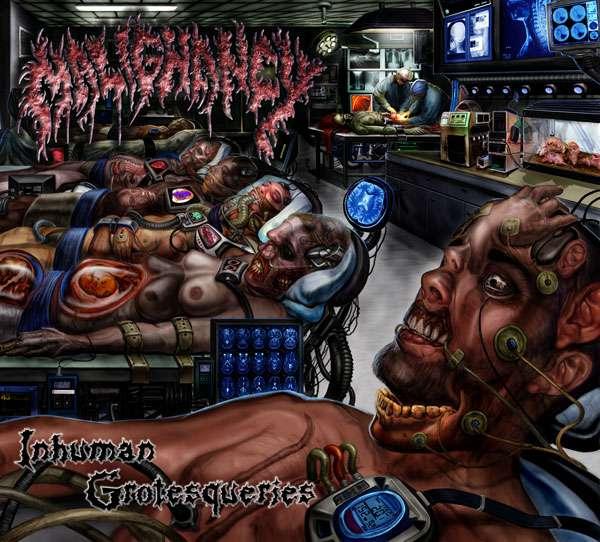 Malignancy – Inhuman Grotesqueries cover artwork