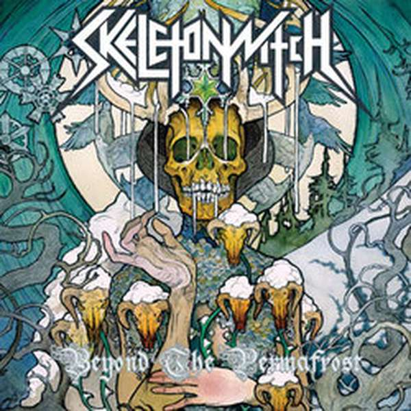 Skeletonwitch – Beyond the Permafrost cover artwork