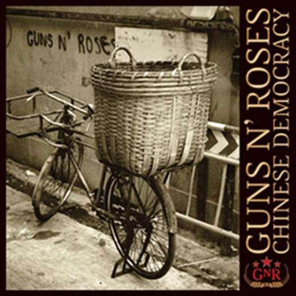 Guns N' Roses – Chinese Democracy cover artwork