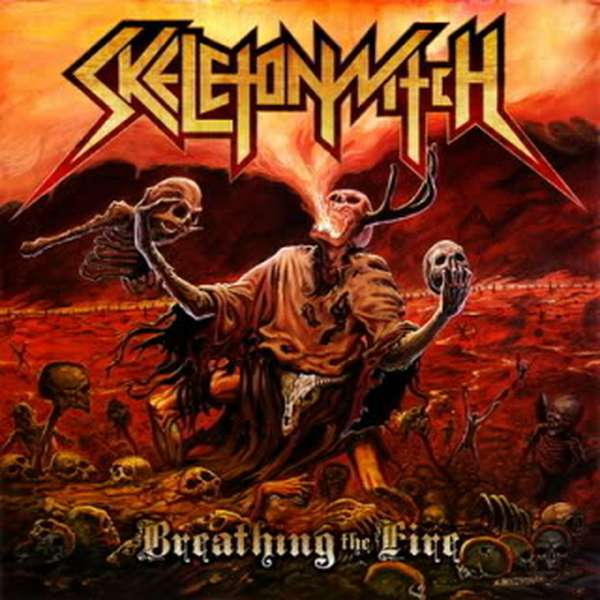 Skeletonwitch – Breathing the Fire cover artwork