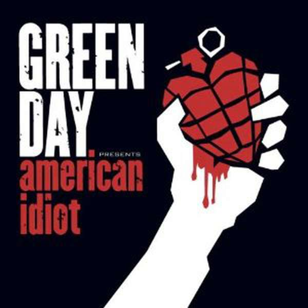 Green Day – American Idiot cover artwork