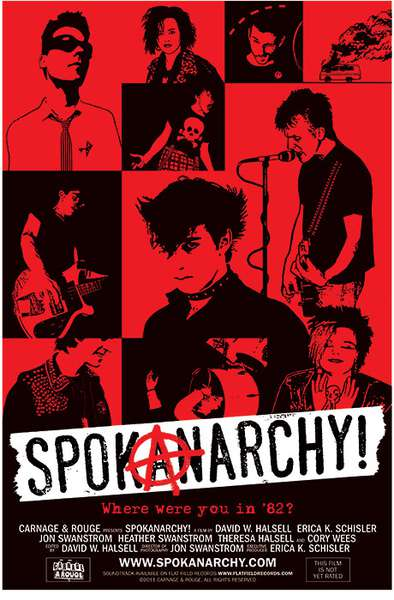 Various Artists – SpokAnarchy! cover artwork