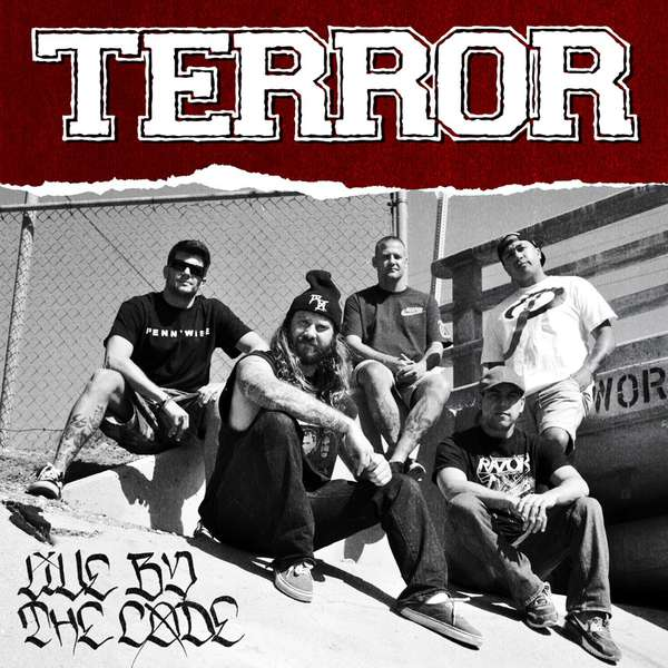 Terror – Live By The Code cover artwork