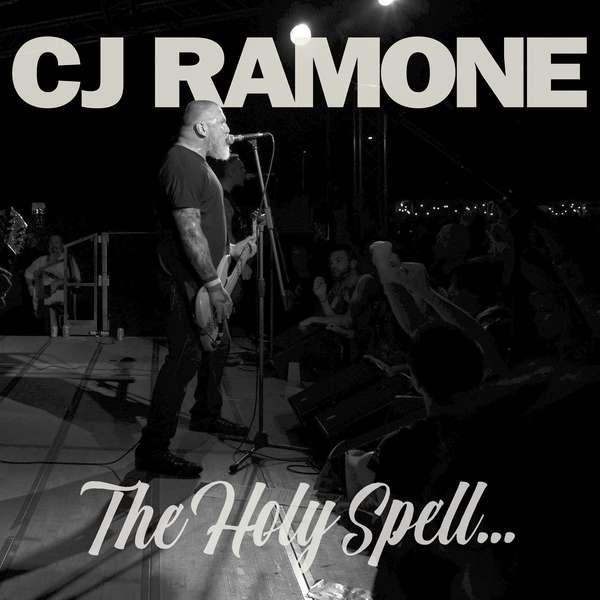 CJ Ramone – The Holy Spell cover artwork